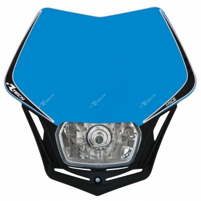 Predná maska so svetlom V-FACE TM modro čierna