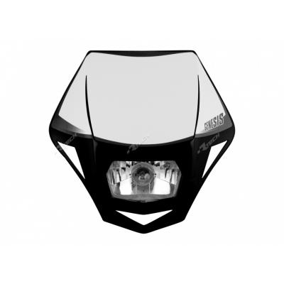 Predná maska so svetlom Genesis, čierna