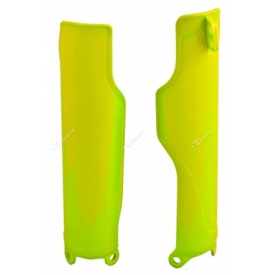 Kryt predného tlmiča neonová žltá