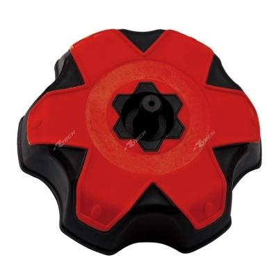 Zátka na nádrž čierno-červené