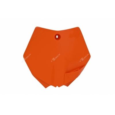 Predná tabuľka oranžová