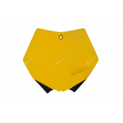 Predná tabuľka žlta