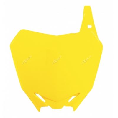 Predná tabuľka žltá