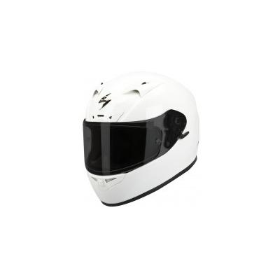 Prilba Scorpion EXO-710 Solid biela, na motorku