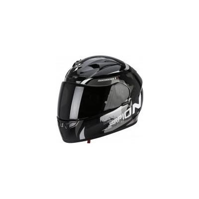 Prilba Scorpion EXO-710 Cerberus čierno-sivá, na motorku