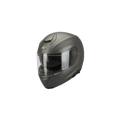 Prilba Scorpion EXO-3000 Solid antracitová matná, na motorku