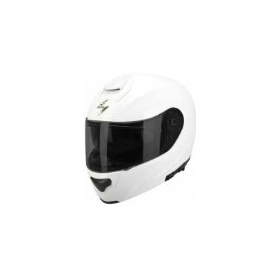 Prilba Scorpion EXO-3000 Solid biela, na motorku