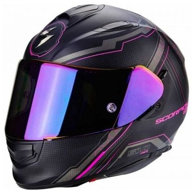 Prilba Scorpion EXO-510 Sync čierno-ružová matná, na motorku