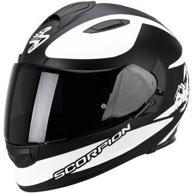 Prilba Scorpion EXO-510 Sublim čierno-biela matná, na motorku