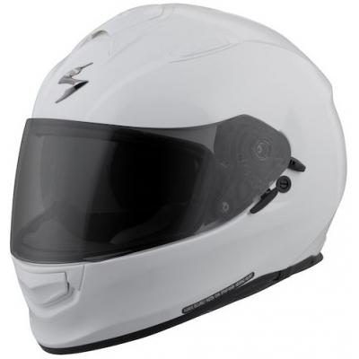 Prilba Scorpion EXO-510 Solid biela, na motorku
