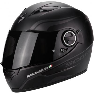 Prilba Scorpion EXO-490 Luz čierno-sivá matná, na motorku