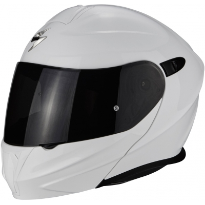 Prilba Scorpion EXO-920 Solid biela, na motorku