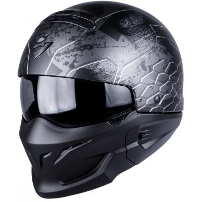 Prilba Scorpion EXO-COMBAT Ratnik sivá matná, na motorku