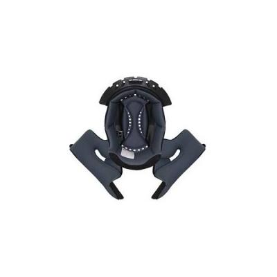 Vnútorná výplň pre prilby Scorpion VX-21 čierno-oranžová, na motorku