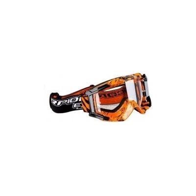 Okuliare Scorpion MX čierno-oranžové, na motorku