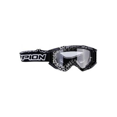 Okuliare Scorpion MX, čierno-biele