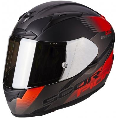 Prilba Scorpion EXO-2000 EVO AIR Volcano čierno-červená fluo, na motorku
