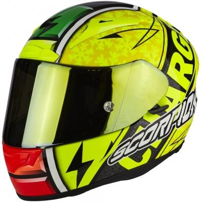 Prilba Scorpion EXO-2000 EVO AIR žltá fluo, na motorku