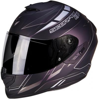 Prilba Scorpion EXO-1400 AIR Cup čierna, na motorku