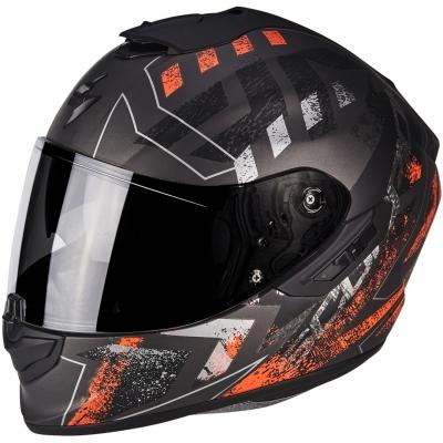 Prilba Scorpion EXO-1400 AIR Picta čierno-červená fluo, na motorku