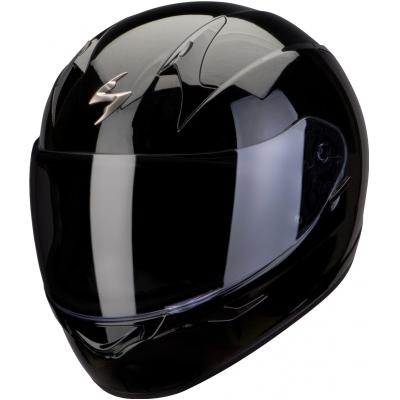 Prilba Scorpion EXO-390 Solid čierna lesklá, na motorku
