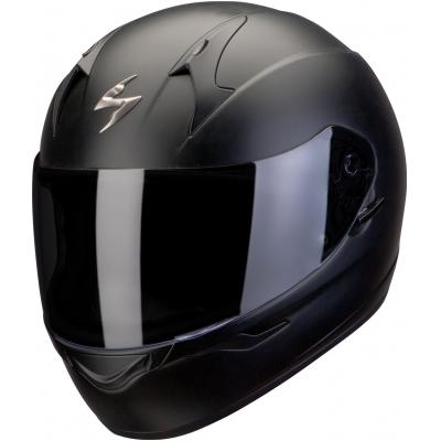 Prilba Scorpion EXO-390 Solid čierna matná, na motorku