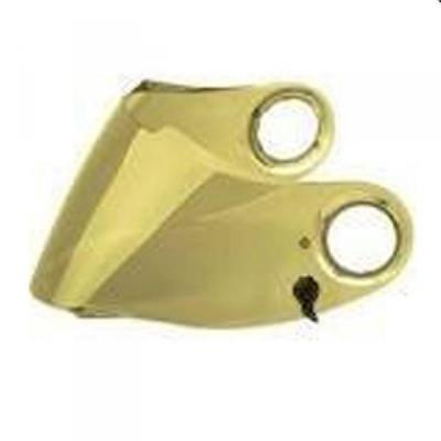 Zrkadlové zlaté plexi pre Scorpion EXO 490/500/1000