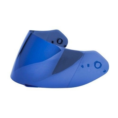 Plexi pre Scorpion EXO 410/510/710/1200/2000, zrkadlové, modré