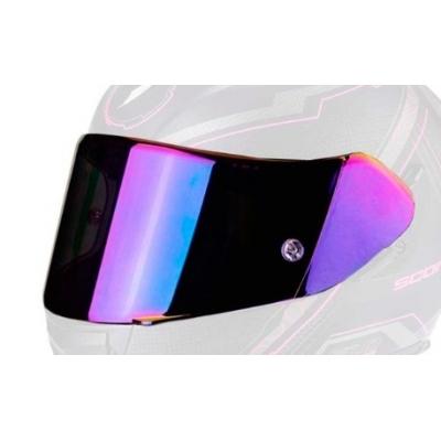 Zrkadlové plexi ružové pre Scorpion EXO 410/510/710/1200/2000