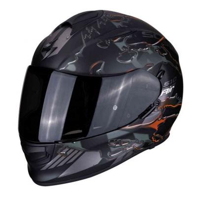 Prilba Scorpion EXO-510 Likid čierno-sivá, na motorku