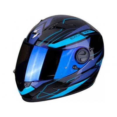 PRILBA SCORPION EXO 490 NOVA  čierno modrá