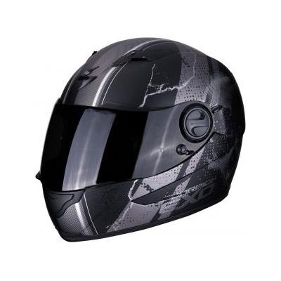 Prilba SCORPION EXO-490 Dar, matná čierno-strieborná