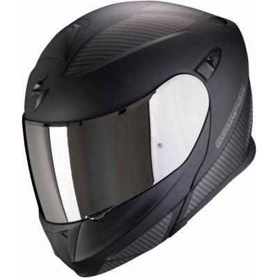 Prilba Scorpion EXO-920 Flux 2020, matná čierno-strieborná