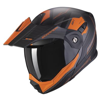 Prilba Scorpion ADX-1 Tucson 2020, čierno-oranžová