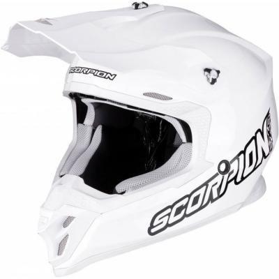 Prilba Scorpion VX-16 AIR Solid 2020, biela