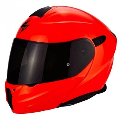 Prilba Scorpion EXO-930 Solid 2021, neónovo červená