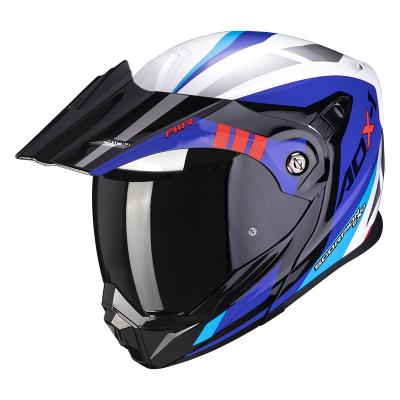 Prilba Scorpion ADX-1 Lontano 2021, bielo-modro-červená