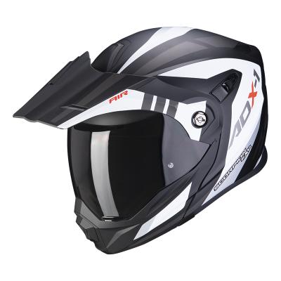 Prilba Scorpion ADX-1 Lontano 2021, matná bielo-čierna
