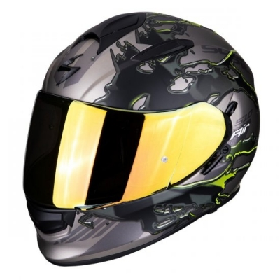 Prilba Scorpion EXO-510 Likid Titan, neónovo žltá