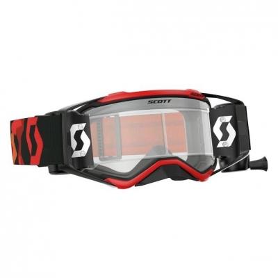 Okuliare na motorku SCOTT Prospect WFS fluo červeno/čierne