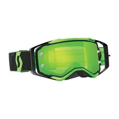 Okuliare Scott Prospect čierne, zrkadlové sklo zelené