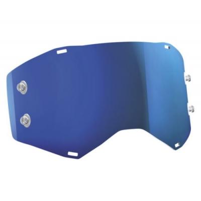 Sklo do okuliarov Scott Prospect - zrkadlové modré