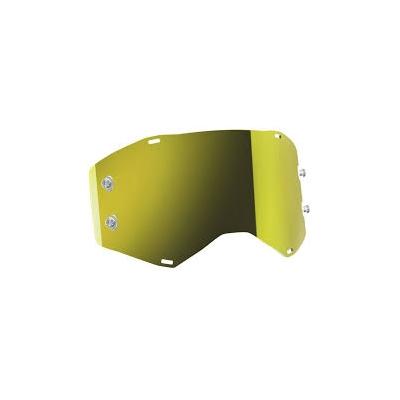 Sklo do okuliarov Scott Prospect - zrkadlové žlté