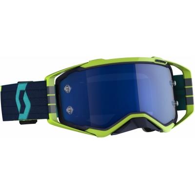 Okuliare SCOTT Prospect - modro-žlté, zrkadlové