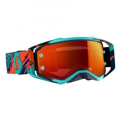 Okuliare SCOTT Prospect - modro-oranžové, zrkadlové
