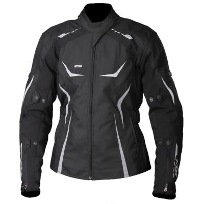 Textilná bunda SECA Sonya IV čierna, na motorku