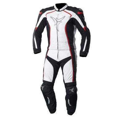 Kombinéza SECA Rev-Up čierno-bielo-červená, na motorku
