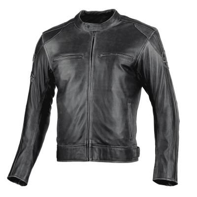 Kožená bunda Seca Aviator II - tmavá hnedá