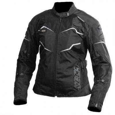 Textilná bunda Seca Stream III dámska - čierna
