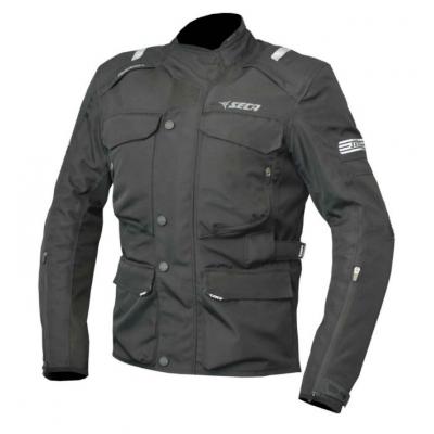 Textilná bunda Seca Kodashi IV, čierna